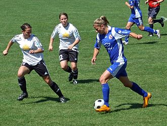 1. FFC Frankfurt - Frankfurt against Potsdam in May 2008