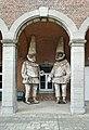 Binche.- La cour intérieure du musée du Carnaval et du Masque 2014.jpg