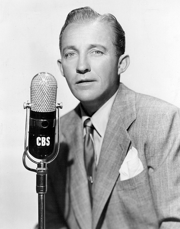 Photo Bing Crosby via Wikidata