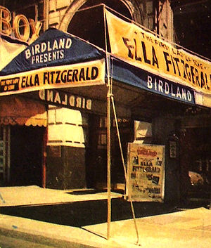 Birdland (New York jazz club) - Birdland entrance