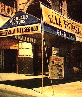 Birdland (New York jazz club) - Birdland entrance