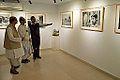 Biswatosh Sengupta - Somendranath Bandyopadhyay - Joy Mukhopadhyay - Joy Mukhopadhyay Solo Exhibition - Kolkata 2014-12-12 1268.JPG