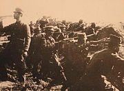 Bizani Infantry charge