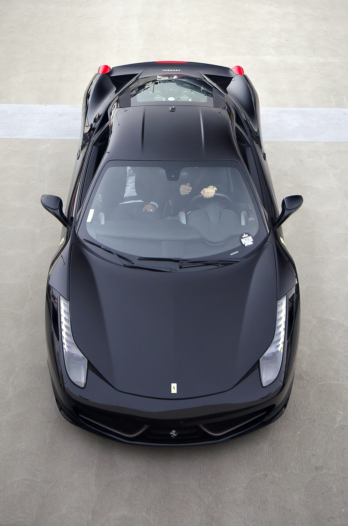 File Black Ferrari 458 Italia 8439074629 Jpg Wikimedia Commons