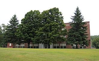 Ludlow (village), Vermont - Image: Black River High School at Ludlow VT