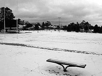 Blackheath, New South Wales - Image: Blackheath NSW Snow 20 6 07 35