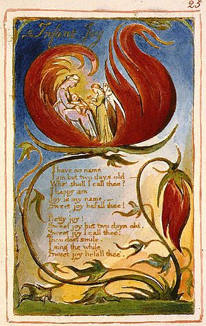 Infant Joy - Image: Blake Infant Joy Copy AA 25