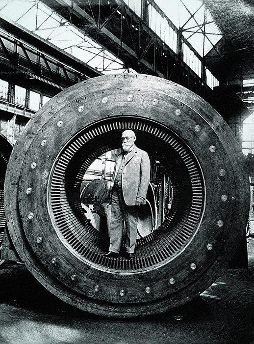 Blathy in a Ganz turbogenerator