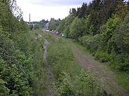 Blick in den Bf Neustadt-Gillersdorf