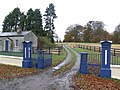 Blue gates - geograph.org.uk - 626487.jpg