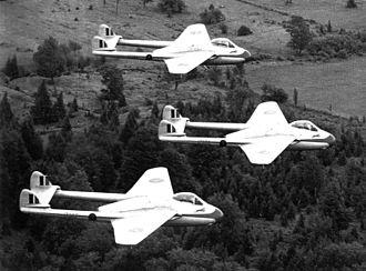 Blue Devils (aerobatic team) - Image: Bluedevils RCAF