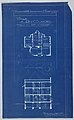 Blueprint, Villa of M. Hemsy, St. Cloud, Plan du 1e Etage, 1913 (CH 18384917-2).jpg