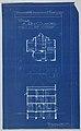Blueprint, Villa of M. Hemsy, St. Cloud, Plan du 1e Etage, 1913 (CH 18384917-2).jpg