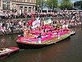 Boat 22 Pink Marrakech, Canal Parade Amsterdam 2017 foto 1.JPG