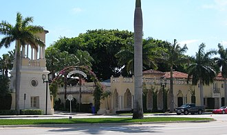 Boca Raton, Florida - Mizner's Administrative Buildings, which still stand and are in use