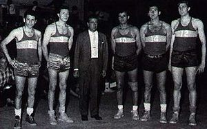 Boca Juniors (basketball) - The multi-champion team of the 1960s.