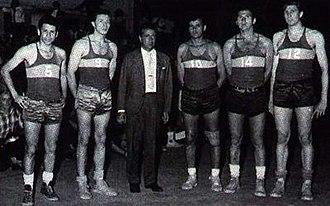 Boca Juniors (basketball) - The multi-champion team of the 1960s.