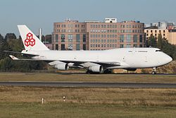 Boeing 747-4B5(BCF) Cargolux LX-ACV, LUX Luxembourg (Findel), Luxembourg PP1318674982.jpg