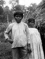 Bogotáindianen Belisario och hans gravida hustru. Veraguas. Panama - SMVK - 004282.tif