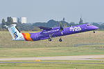 Bombardier DHC8-402 'G-JECY' Flybe (22868697815).jpg