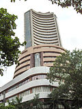 Bombay Stock Exchange (Börse) in Mumbai