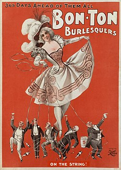 meaning of burlesque