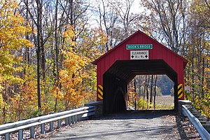 Jackson Township, Perry County, Pennsylvania - Book's Covered Bridge