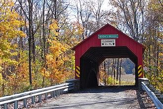 Jackson Township, Perry County, Pennsylvania - Book's Covered Bridge