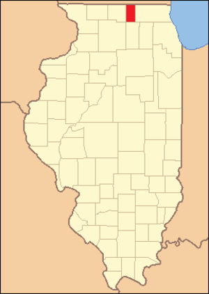 Boone County, Illinois - Image: Boone County Illinois 1837