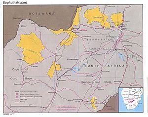 Bophuthatswana - Bophuthatswana in 1977