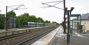Borup, Køge Municipality - Borup railway station