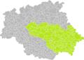 Boucagnères (Gers) dans son Arrondissement.png