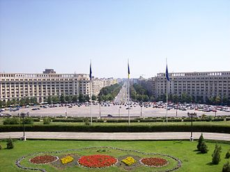 Centrul Civic - Unirii Boulevard