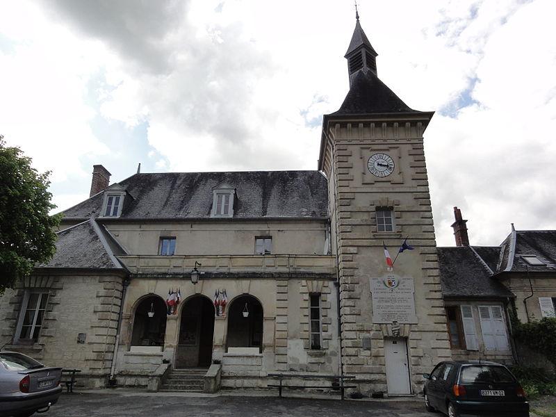 Bourguignon-sous-Montbavin (Aisne) mairie