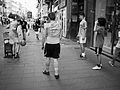 "Boys playing soccer in via Toledo, Naples - ""Cavani"" - by Mario Mancuso.jpg"