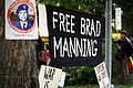Bradley Manning rally, August 2010.jpg