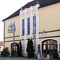 BrauereiKuchlbauer Brauereigebäude StadtAbensberg LandkreisKelheim Niederbayern.JPG