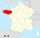 Bretagne region locator map.svg