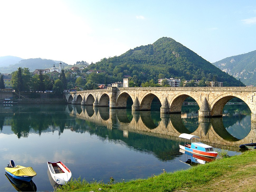 Bridge on the Drina July 2009