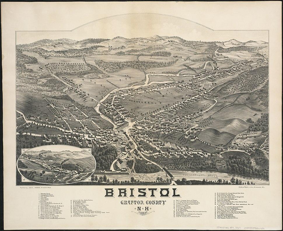 Bristol, Grafton County, N.H. 1884 (4587186514)
