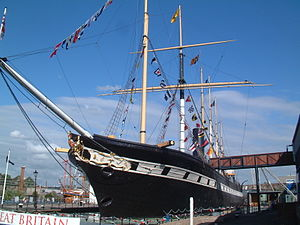 SS Great Britain - Image: Bristol MMB 43 SS Great Britain
