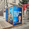 Brno, Česká, stánek ODS před volbami 2020 (16.50.52).jpg
