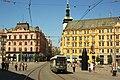 Brno, náměstí Svobody, Tatra K2R č. 1066 (02).jpg