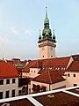 Brno, stará radnice z terasy tržnice.jpg