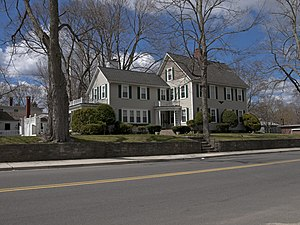 Killingly, Connecticut - A house on Broad Street