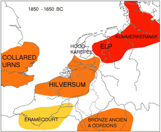 Location of the Elp and Hilversum cultures in the Bronze Age. BronzAgeElp.png