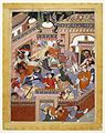 Brooklyn Museum - Led by Songhur Balkhi and Lulu the Spy the Ayyars Slit the Throats of Prison Guards and Free Sa'id Farrukh-Nizhad.jpg