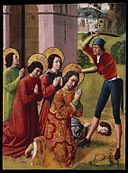 Brooklyn Museum - Martyrdom of Saints Cosmas and Damian with their Three Brothers part of an altarpiece - French.jpg