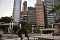 Bruce Lee Statue at the Avenue of Stars, Hongkong (Ank Kumar) 02.jpg