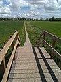 Bruggetje over de Bierumermaar en fietspad - panoramio.jpg